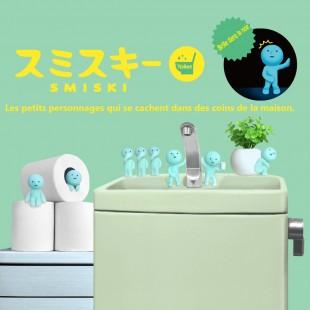 Figurine Smiski Serie toilettes