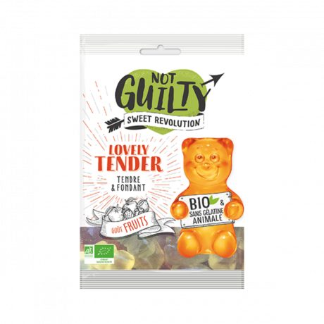Lovely Tender - Not Guilty - bonbons bio vegan sans gluten