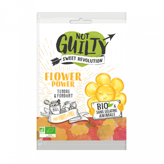 Bonbons bio flower power - Not Guilty
