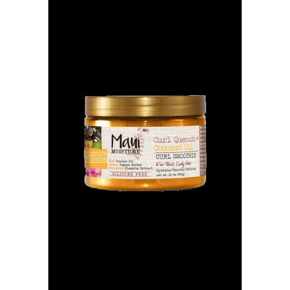 Curl Quench + Coconut Oil masque Maui Moisture