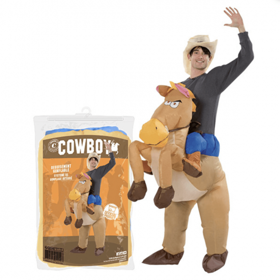 Costume Gonflable Cowbow