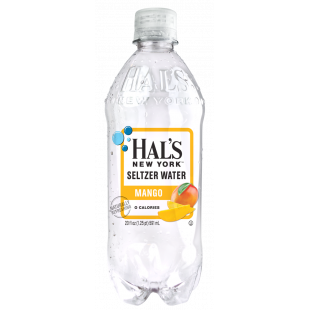 HAL'S New Yok Seltzer Water
