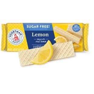 Gaufrettes Au Citron Sans Sucre Voortman