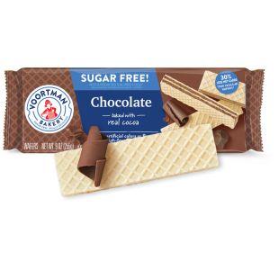 Gaufrettes Au Chocolat Sans Sucre Voortman