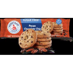 Biscuits Pecan & Pepites de chocolat Sans Sucre Voortman