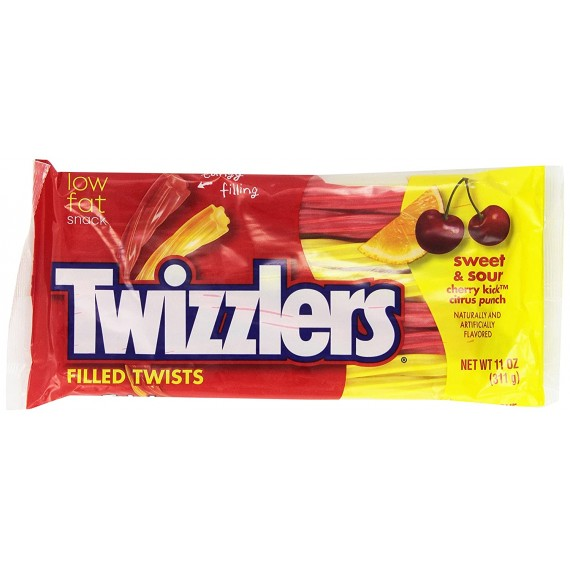 Twizzlers Sweet & Sour Filled