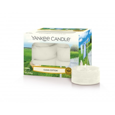 Yankee Candle Lumignons Clean Cotton