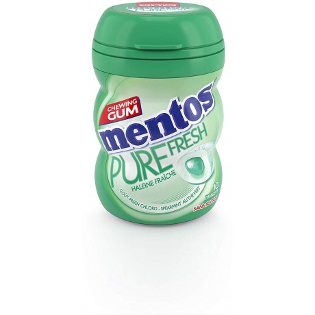 Pure Fresh Chloro - Spearmint Mentos Gum Nano Bottle