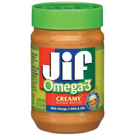 JIF Creamy Peanut Butter Omega 3