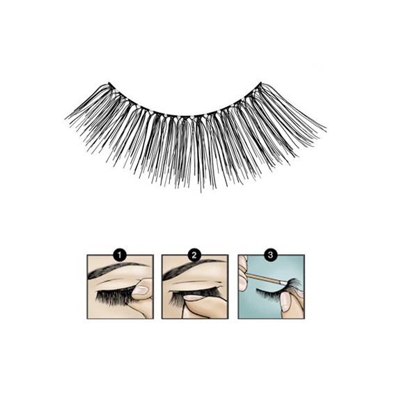 Faux Cils Fashion Lashes 111 BLACK