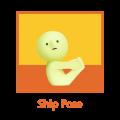 Figurine Smiski Serie Yoga