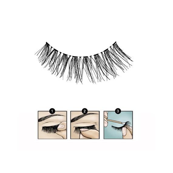 Faux Cils Fashion Lashes 120 BLACK 1/2