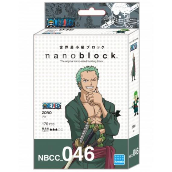 NanoBlock One Piece - Zoro