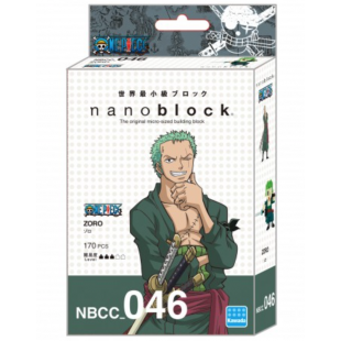 NanoBlock One Piece - Zoro
