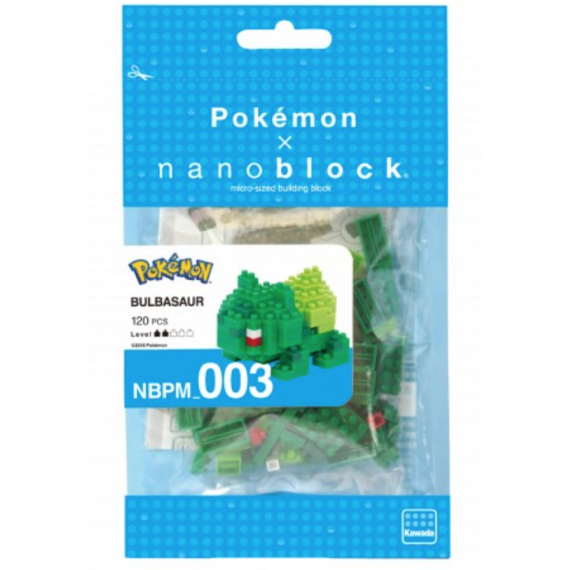 NanoBlock Pokemon - Bulbizarre