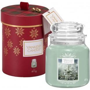 Yankee Candle Coffret Sapin Blanc parfum exclusif