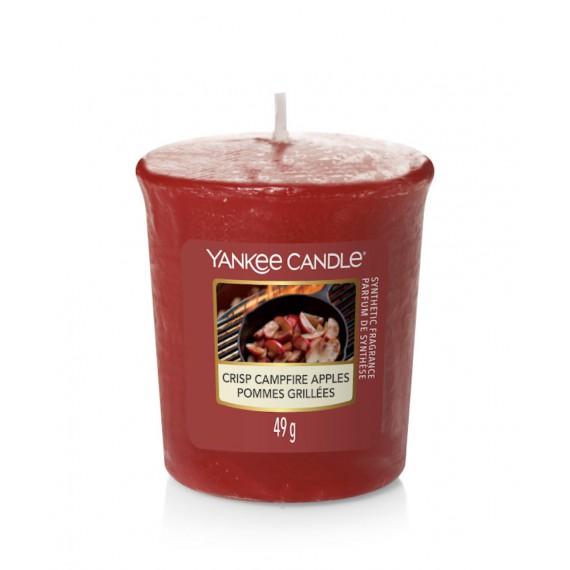 Yankee Candle Votive Crisp Campfire Apples