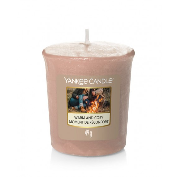 Votive Warm and Cosy bougie parfumée Yankee Candle