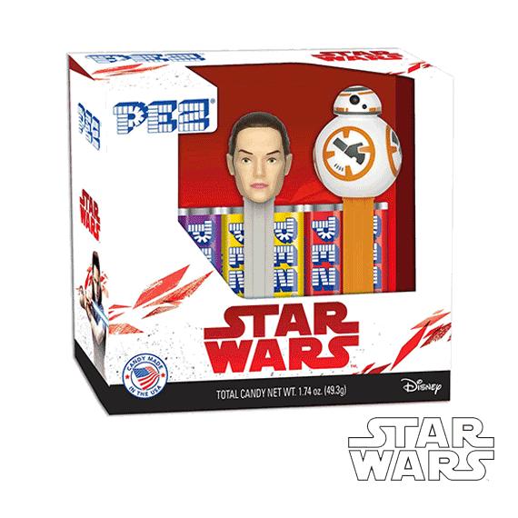 Coffret PEZ Star Wars Episode 8 - Rey & BB-8