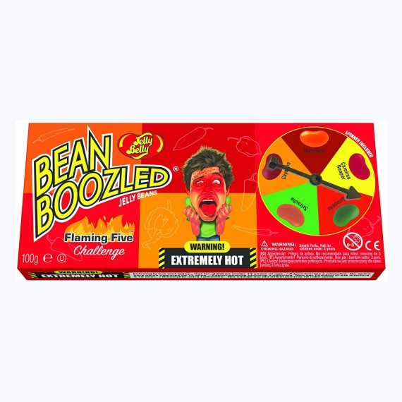 Bean Boozled Flaming five Roulette