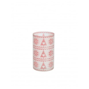 Yankee Candle Porte Jarre Red Nordic