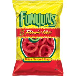 Funyuns Flamin Hot Onion Flavored Rings