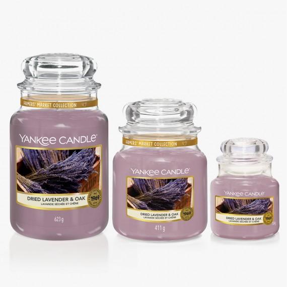 Dried Lavender & Oak Bougies Jarres