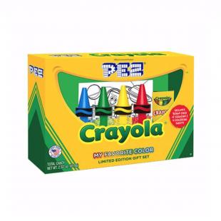 Coffret PEZ Crayola