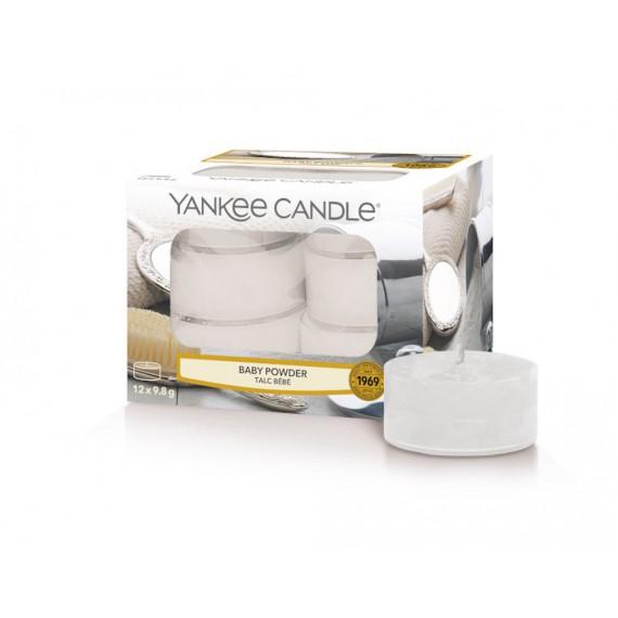 Baby Powder Yankee Candle Lumignons