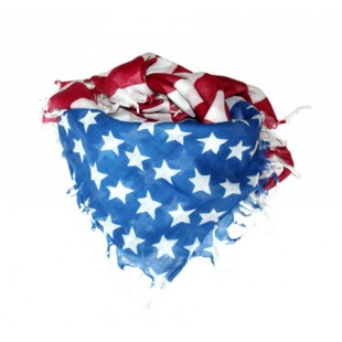 Foulard-US-FLAG-Franges