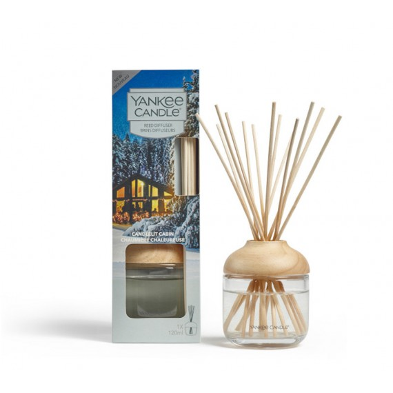 Yankee Candle Candlelit Cabin Brins Diffuseurs 120ml