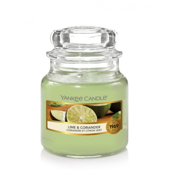 Yankee Candle Lime & Coriander Bougies Jarres
