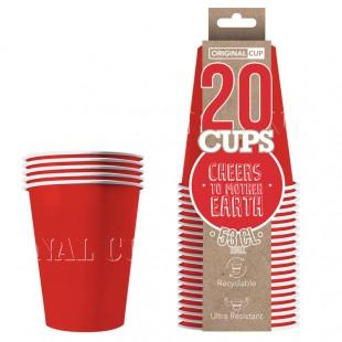 Papar Cups Rouges Original Cup