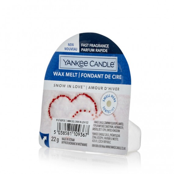Yankee Candle Snow In Love Fondant de Cire