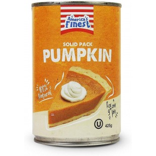 America's Finest Solid Pack Pumpkin