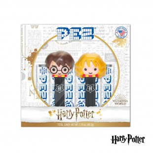 Coffret PEZ Harry Potter - Harry & Hermione