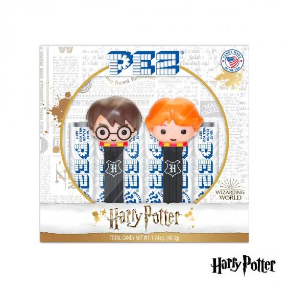 Coffret PEZ Harry Potter - Harry & Ron