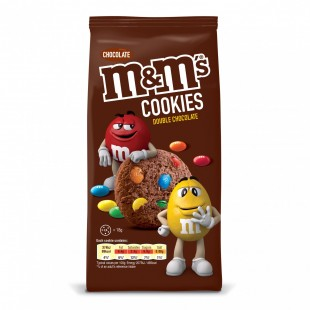 M&M's Cookies Double Chocolat