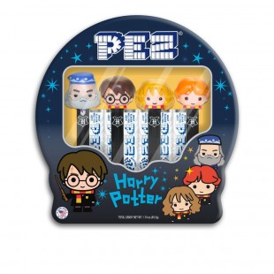 Coffret PEZ Harry Potter Boite Métal - Harry & Ron