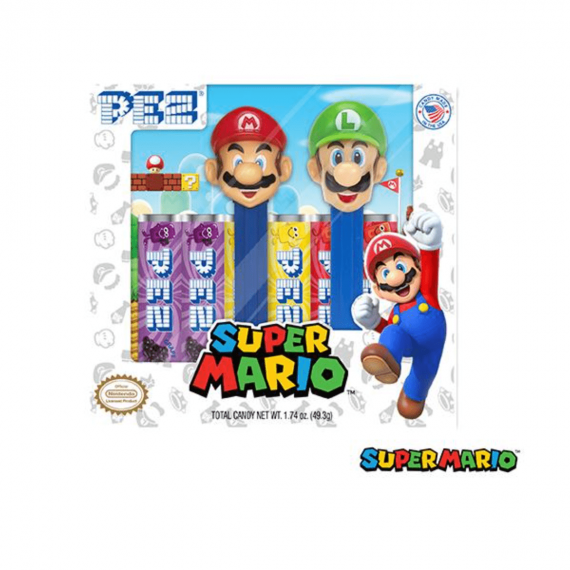 Coffret PEZ Super Mario & Luigi