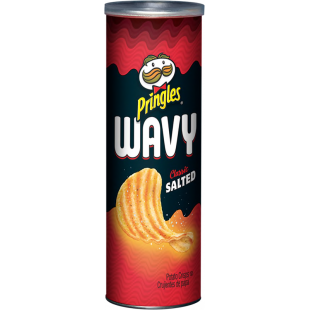 Pringles Wavy Classic Salted