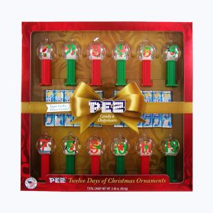 Coffret PEZ 12 Days Of Christmas