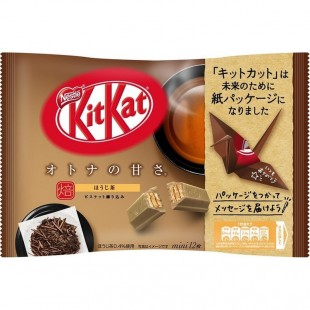 Kit Kat Mini Holi-Cha Rosted Tea Japan 135g