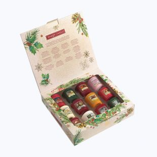 Coffret Cadeau 12 Votives Magical Christmas Morning