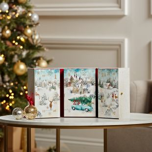 Coffret Livre De l'Avent Magical Christmas Morning
