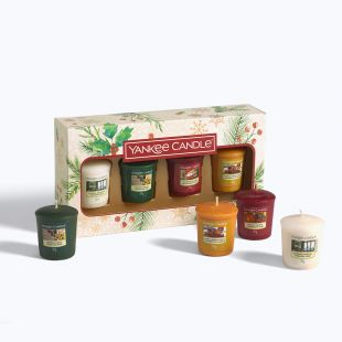 Coffret 4 Votives Magical Christmas Morning