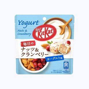 Kit Kat Bites Everyday Nuts Cranberry Yaourt