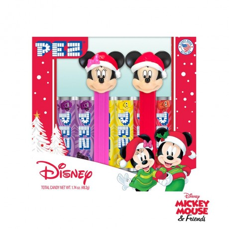 Coffret PEZ Mickey & Minnie Mouse Holiday