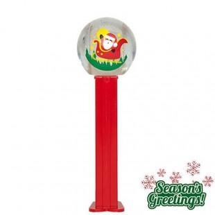 Snowglobe Santa In Sleigh - Noël