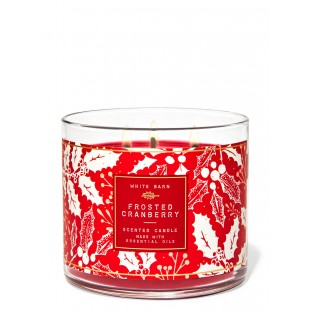 Bougie Bath & Body Works Frosted Cranberry